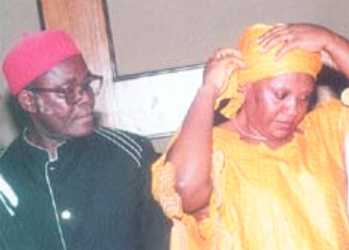 Mrs Amaka Anajemba (right) and Mr Nzeribe Edeh Okoli suspects in $242m Advance Fee Fraud scam