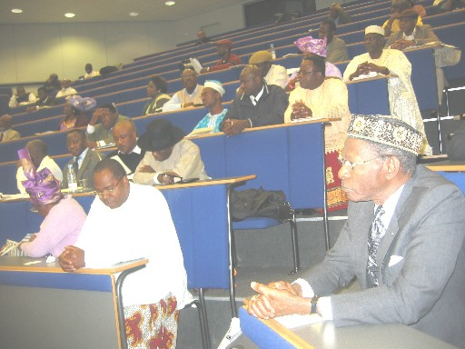 Mr gamaliel onosode at an urhobo historical society function