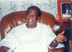 Chief M. T. Mbu