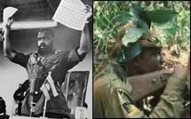 Col. Chukwuemeka Odumegwu-Ojukwu and Biafran Soldier