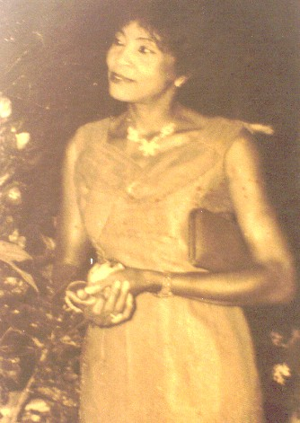Chief Margaret Ekpo as a Young Woman