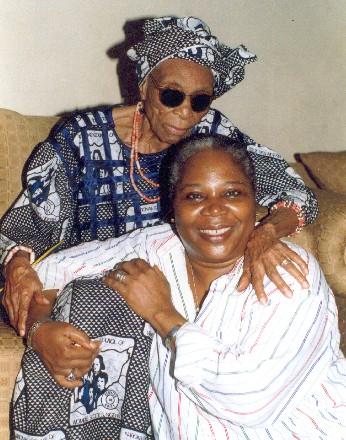 Chief Margaret and Onyeka Onwenu