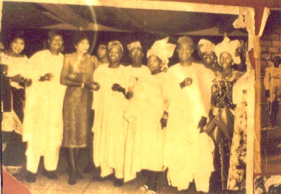 Chief Margaret Ekpo and other politicians