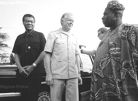 Olikoye Ransome-Kuti, Jimmy Carter, Obasanjo