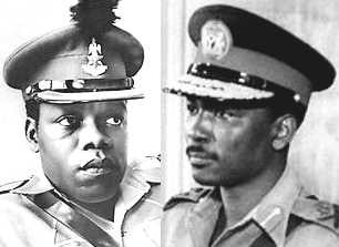 Colonel Ojukwu and Colonel Gowon