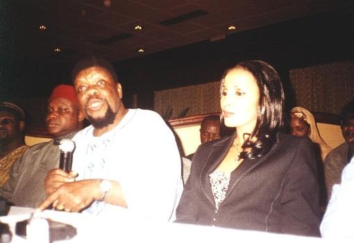 Dim Ojukwu and Wife Bianca Onoh-Ojukwu