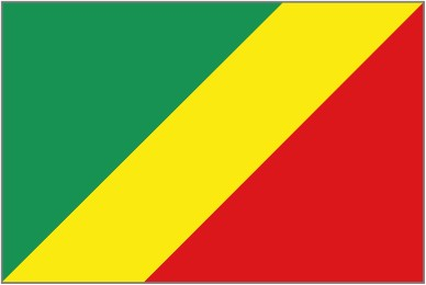Flag of People's Republic of the Congo
