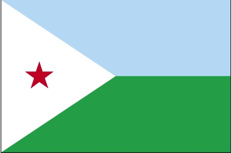 Flag of Republic of Djibouti