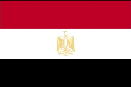 Flag of Arab Republic of Egypt