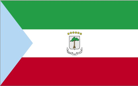 Flag of Republic of Equatorial Guinea