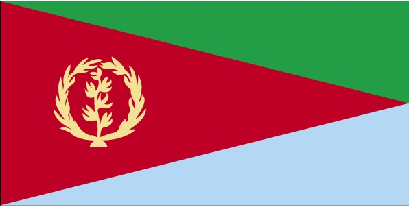 Flag of the Republic of Eritrea