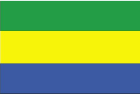 Flag of the Republic of Gabon