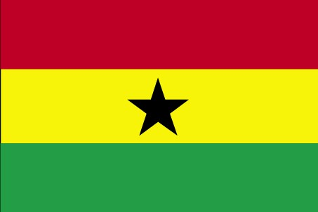 Flag of the Republic of Ghana