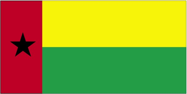 Flag of the Republic of Guinea-Bissau