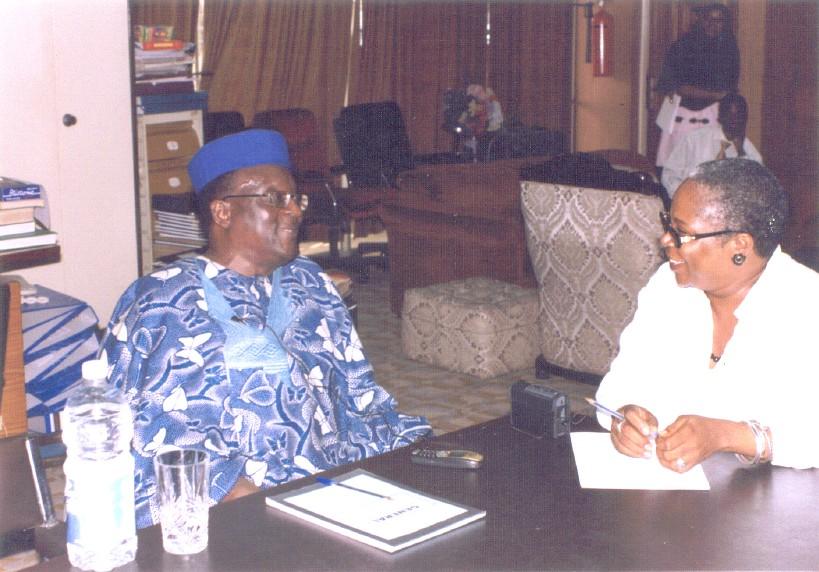 Gani fawehinmi and Onyeka Onwenu