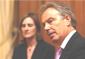 British PM Tony Blair