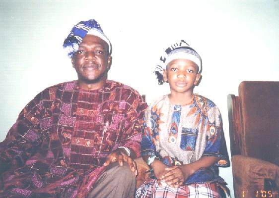 Professor V.C. Ike's Son Prince Osita Ike and Grandson Prince Chuck Ike