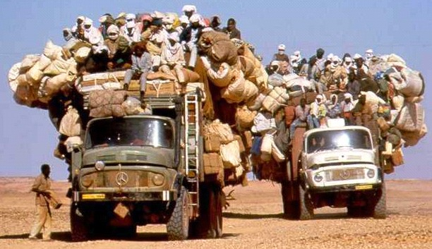 Dangerous transportation in Africa