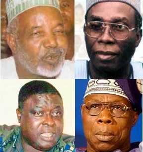 BNW Balarabe Ogbeh Balogun Obasanjo