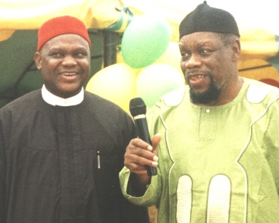 Chief Chekwas Okorie and Dim Ojukwu