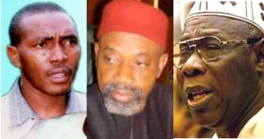 BNW Chris Uba, Chris Ngige and Obasanjo