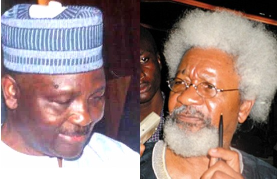 BNW Gowon and Soyinka
