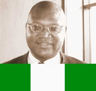 BNW Kalu Onuma and Nigerian Flag