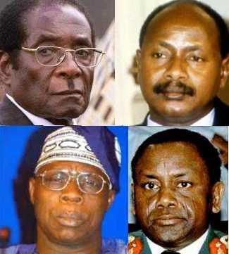 BNW Mugabe Museveni Obasanjo Abacha