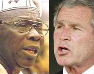Obasanjo and Bush