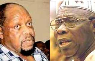 BNW Ojukwu and Obasanjo
