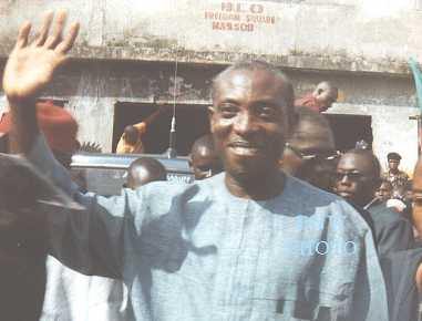 Chief Ralph Uwazuruike of MASSOB