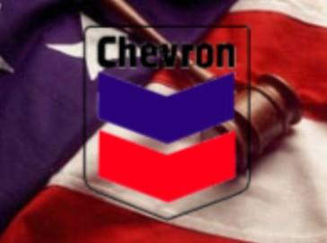Chevron Logo - US Flag