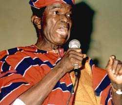 Abraham Adesanya Leader Afenifere