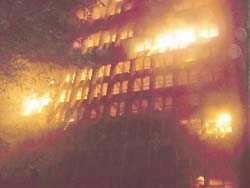 Fire _ Federal Secretariat Ikoyi