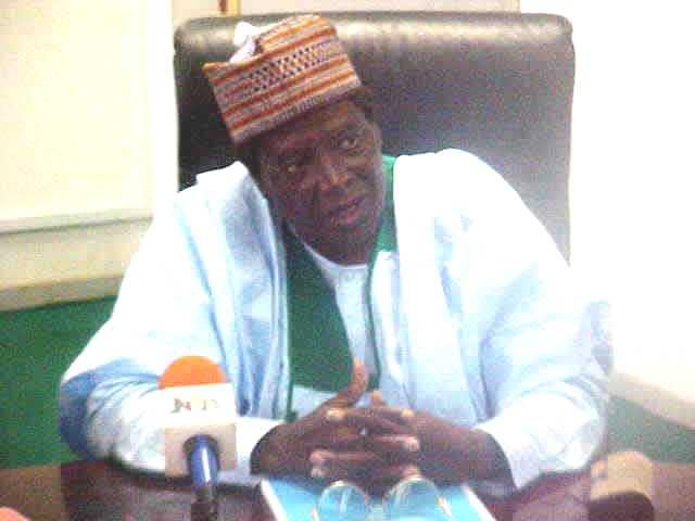 Minister Alhaji Hussaini Akwanga