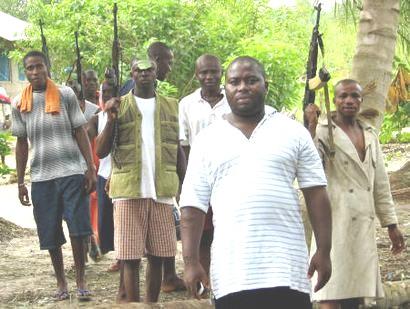 BNW Mujahid Dokubo-Asari and Militiamen