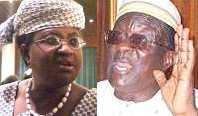 Ngozi Okonjo-Iweala and Gani Fawehinmi