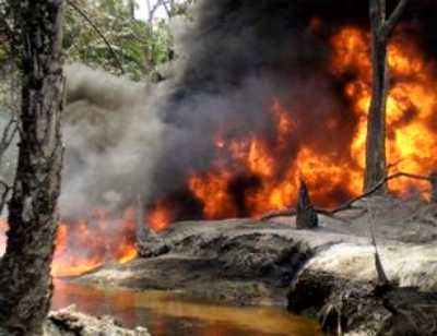 BNW Shell Pipeline Explosion