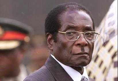 Zimbabwe President Mugabe